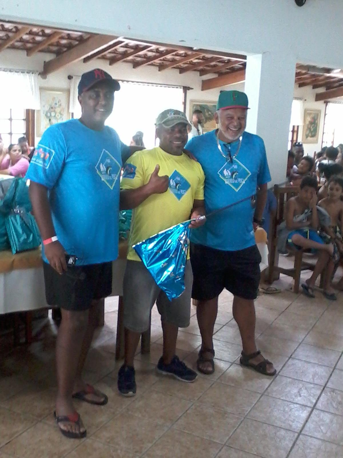 1º lugar: Sidnei Ap. Oliveira